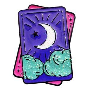 Jewelry - {5/$25} Tarot card enamel pin!